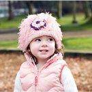 Zooni handmade hat FLOWER POWER - Medium
