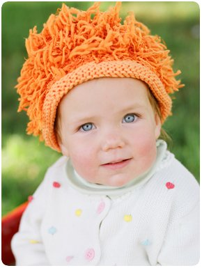 Zooni handmade hat LEO the LION - Small