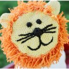 Zooni handmade hat LEO the LION - Medium