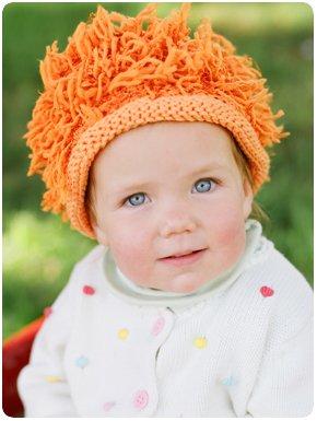 Zooni handmade hat LEO the LION - Large