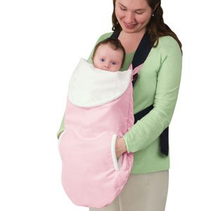 kiddopotamus poppit 3 way baby carrier cover pink - Carrier Cover