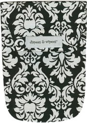 Diapees n Wipees pouch - DANDY DAMASK