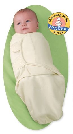 Kiddopotamus SwaddleMe blanket in Organic Cotton - Large