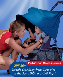 Kiddopotamus stroller Ray Shade - NAVY