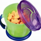 Munchkin Snack Catchers pack of 2 - Green + Orange