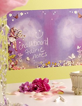 WALLIES Chalkboard sheets 2pk - FLOWER FAIRIES