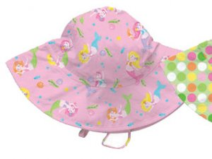 iPlay Brim Sun Hat with UPF 50 - PINK - 6-18m