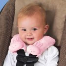 Kiddopotamus CushyStraps Cushioned Carseat Strap Covers - PINK