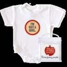 WRY Baby 'I'm Not a Girl' Snapsuit, 0-6m
