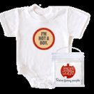 WRY Baby 'I'm Not a Boy' Snapsuit, 0-6m