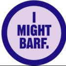 WRY Baby 'I Might Barf' Snapsuit, 6-12 m