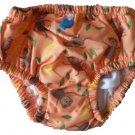 iPlay Ultimate Swim Diaper - Orange Monkey - 18m
