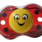 RazBaby Keep it Klean self-closing Pacifier LADYBUG