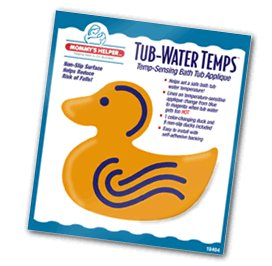Mommy's Helper Tub Water Temps non-slip appliques