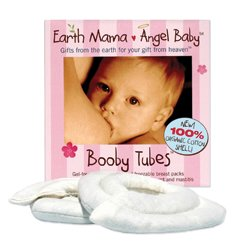 Earth Mama Angel Baby Booby Tubes breast packs