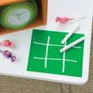 WALLIES Chalkboard sheets 2pk - TIC TAC TOE