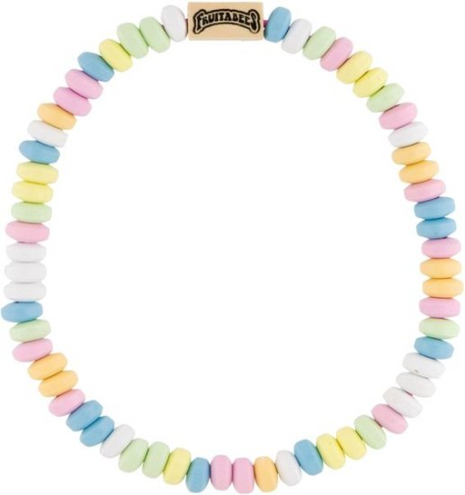 Fruitabees Wooden Bead Necklace - CANDY NECKLACE