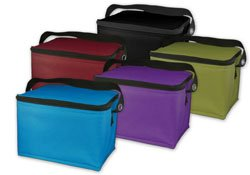 Easy Lunchbox Lunch Bag Cooler, PURPLE