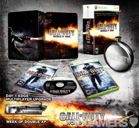 Call of Duty World at War Collector's Edition