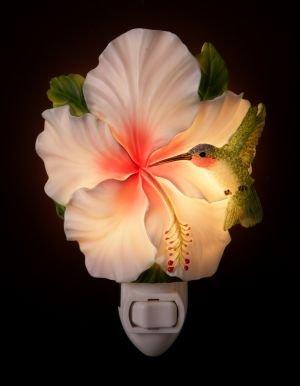 Hummingbird & Hibiscus Nightlight - Ibis & Orchid Designs