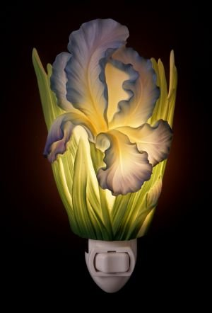 Bearded Iris Nightlight - Ibis & Orchid Designs