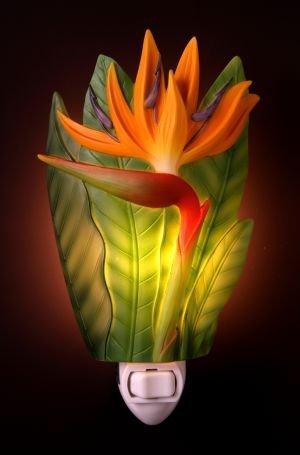 Bird of Paradise Nightlight - Ibis & Orchid Designs