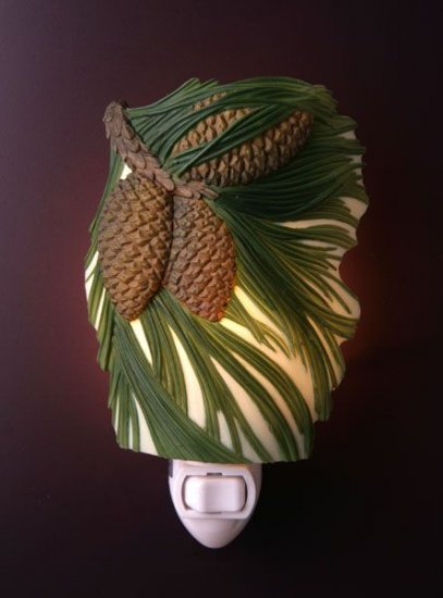 Pine Cone Nightlight - Ibis & Orchid Designs