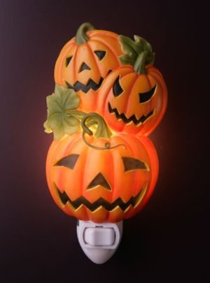 Jack-O-Lanterns Nightlight - Ibis & Orchid Designs