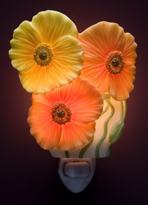 Icelandic Poppies Nightlight - Ibis & Orchid Designs