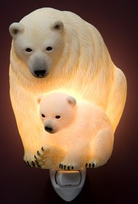 Polar Bear Nightlight - Ibis & Orchid Designs