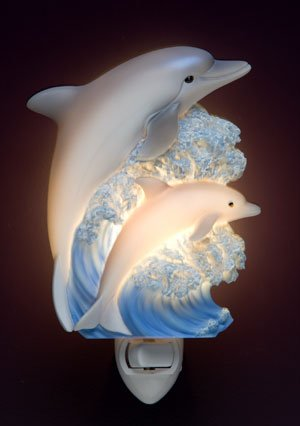Dolphins Nightlight - Ibis & Orchid Designs