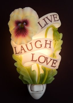 Live Laugh Love Nightlight - Ibis & Orchid Designs