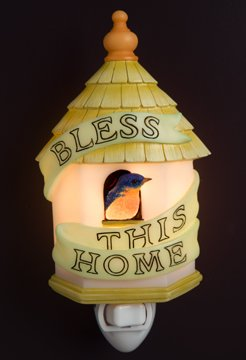 Bless This House Nightlight - Ibis & Orchid Designs