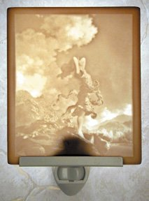 Ecstasy Flat Lithophane Nightlight