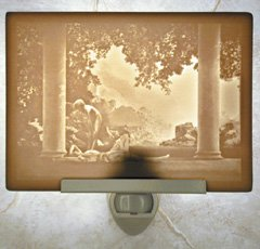 Daybreak Flat Lithophane Nightlight