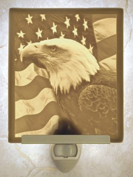 Liberty Flat Lithophane Nightlight
