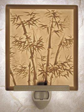 Bamboo Flat Lithophane Nightlight