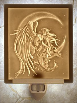 Moon Dreamer Flat Lithophane Nightlight