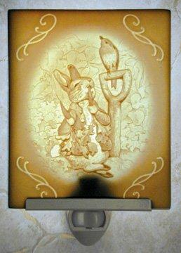 Peter Rabbit Belle Rose Farm Classic Lithophane Collection