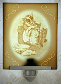 Tom Kitten Belle Rose Farm Classic Lithophane Collection