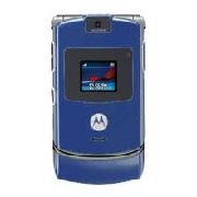 Motorola V3 Razor Blue Cell Phone (Unlocked) GSM